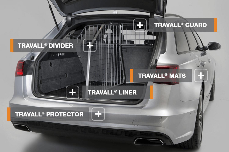 Travall fertigt fahrzeugspezifisches Autozubehör, das besonders bei Hundebesitzern und Familien gut ankommt. Hier findet ihr alle unsere Produkte in der Übersicht. © Travall
