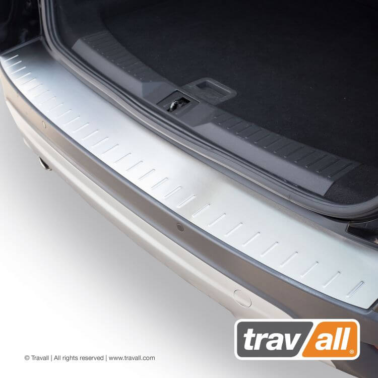 Stainless steel or plastic rear bumper protector for ford vehicles