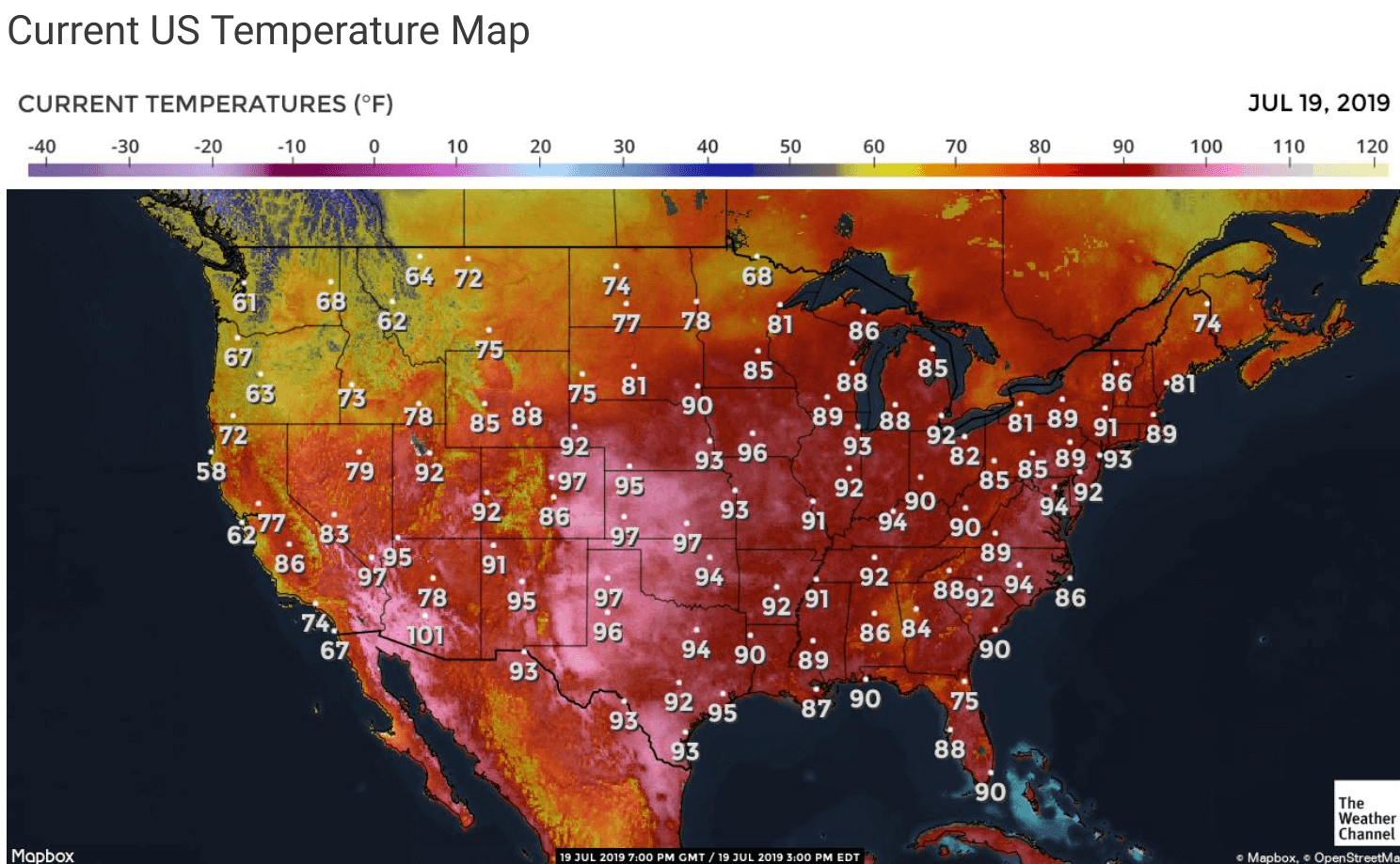 July 2019 Heat Wave